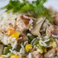 Rice, Chicken and Vegi II